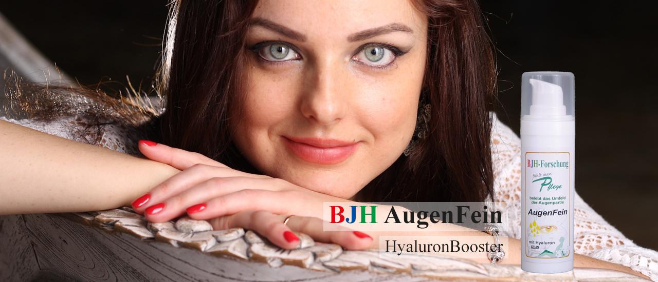 AugenFein Hyaluron Booster anti aging Augen Gesicht Hals